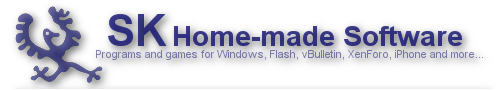 SK Home-made Software